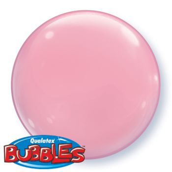 15-inch Pink Bubble Balloon