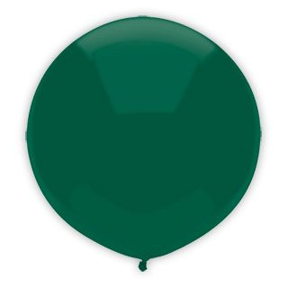 17 Inch Forest Green Outdoor Balloon