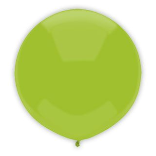 17 Inch Kiwi Lime Outdoor Balloon