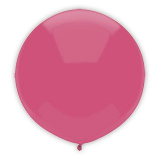 17 Inch Passion Pink Outdoor Balloon