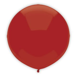 17 Inch Real Red Outdoor Balloon