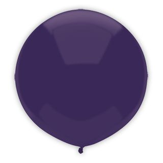 17 Inch Regal Purple Outdoor Balloon