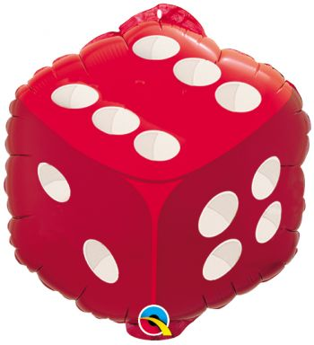 18-inch Dice Balloon
