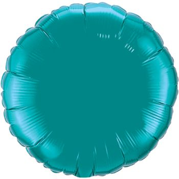 18-inch Teal Microfoil Balloon