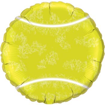 18-inch Tennis Ball Balloon