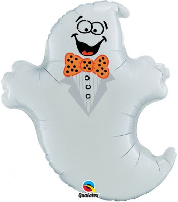 "32"" Halloween Ghost Mylar Balloon"