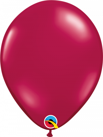 3ft Sparking Burgandy Balloon