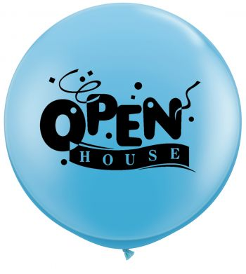3ft Open House Confetti Balloon