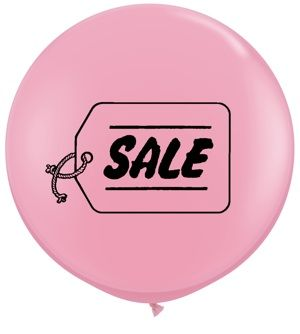 3ft Sale Assorted Balloon