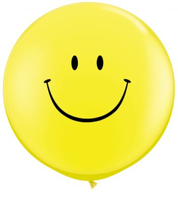 3ft Smile Face Balloon