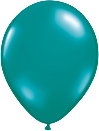 5 Inch Jewel Teal Balloon