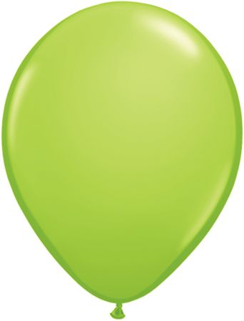 5 Inch Lime Green Balloon