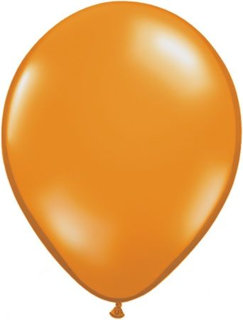 5 Inch Mandarin Orange Balloon