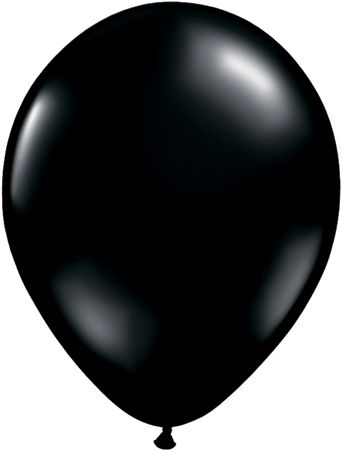 5 Inch Onyx Black Balloon