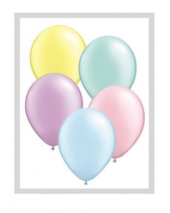 5 Inch Pastel Pearl Assortment Balloon