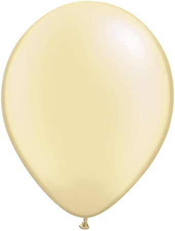 5 Inch Pearl Ivory Balloon