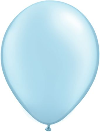5 Inch Pearl Light Blue Balloon