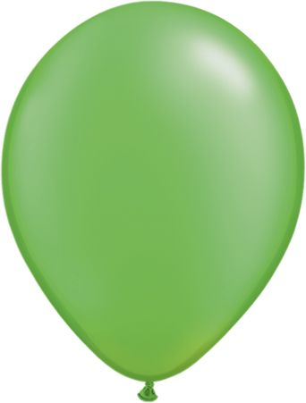 5 Inch Pearl Lime Green Balloon