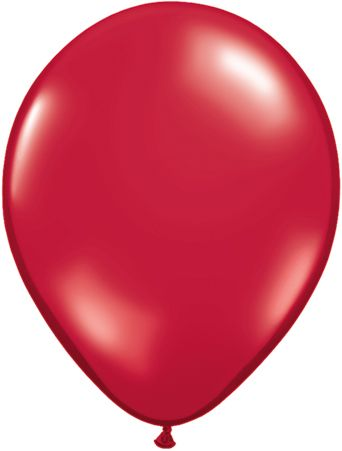 5 Inch Ruby Red Balloon