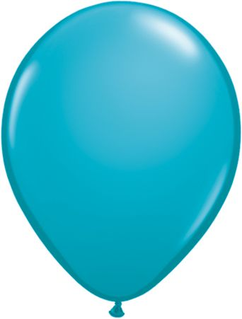 5 Inch Tropical Teal Balloon