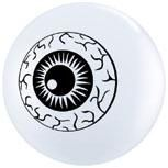 "5"" White Eyeball TopPrint"