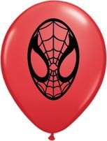 "5"" Red Spider-Man Face"