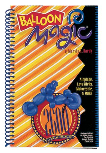 Balloon Magic 260Q Paperback Book