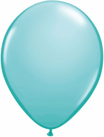 5 Inch Caribbean Blue Balloon
