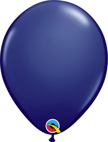 Pack of 100 11 Inch Navy Balloons