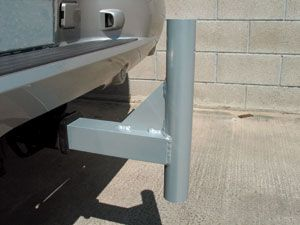 Swooper Flag Trailer Hitch Base