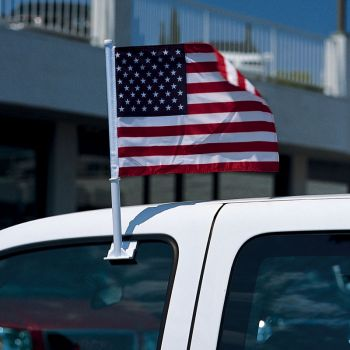 US Flag Car Window Flag
